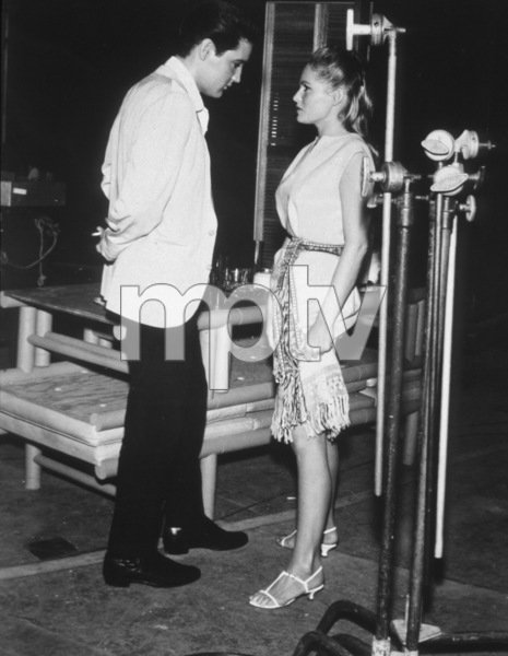 """""""Fun in Acapulco""""Elvis Presley and Ursula Andress1963 Paramount - Image 6411_0007"""