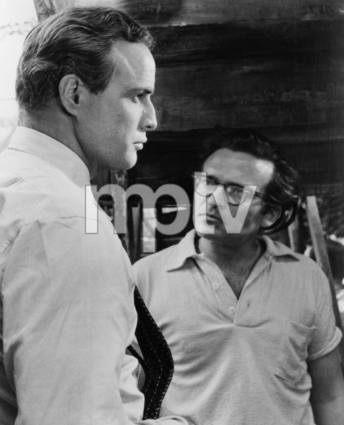 """The Fugitive Kind""Marlon Brando, director Sidney Lumet1959 United Artists - Image 6412_0014"