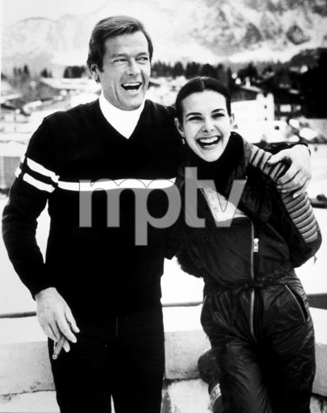 """""""For Your Eyes Only,""""Roger Moore, Carole Bouquet © 1981 UA / MPTV - Image 6419_0007"""