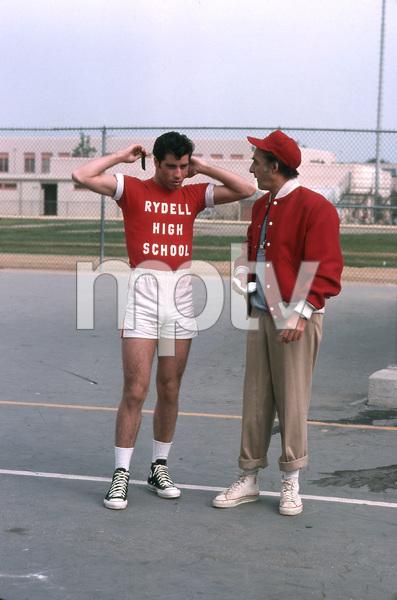 """Grease""John Travolta, Sid Caesar © 1978 Paramount Pictures** I.V. - Image 6457_0026"