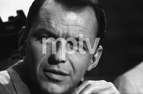 """Frank Sinatra during the filming of """"A Hole in the Head""""1959 United Artists** I.V. - Image 6500_0003"""