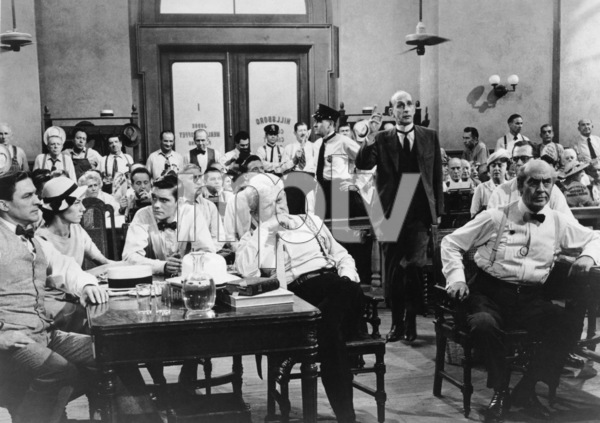 """""""Inherit The Wind""""Gene Kelly, Donna Anderson, Dick York, Spencer Tracy, Fredric March, Philip Coolidge1960 United Artists - Image 6601_0004"""