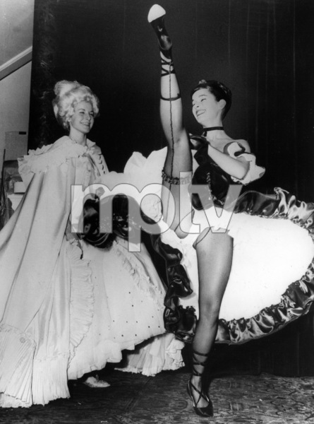 Geraldine Chaplin backstage at the Royal Opera House in Covent Garden1962 - Image 6614_0016