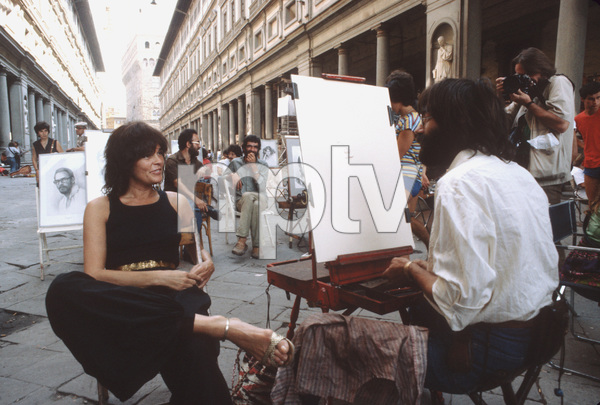 Ali MacGraw on location in Europe duringfilm production1981/**H.L. - Image 6628_0133