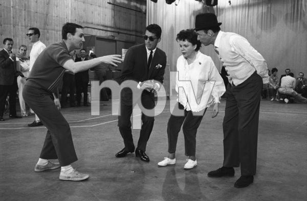 """The Judy Garland Show""Dean Martin, Judy Garland, Frank Sinatra, Norman Jewison1962 © 1978 Bob Willoughby  - Image 6638_0001"