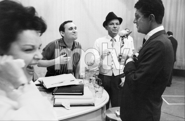 Norman Jewison directing a TV special starring Judy Garland, Frank Sinatra and Dean Martin1962 © 1978 Bob Willoughby - Image 6638_0002