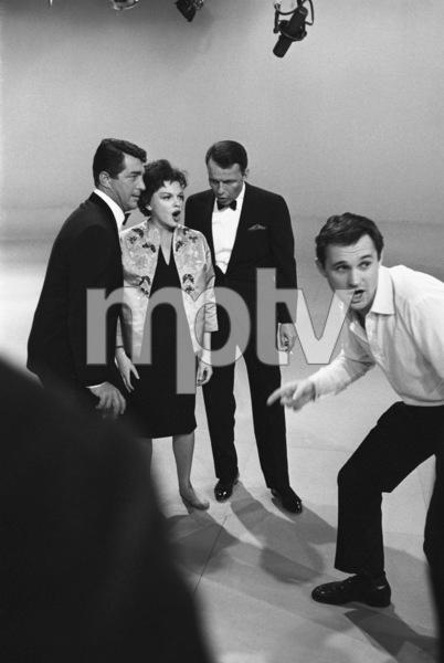 """The Judy Garland Show""Dean Martin, Judy Garland, Frank Sinatra, Norman Jewison1962 © 1978 Bob Willoughby  - Image 6638_0004"