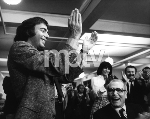"""""""The Jazz Singer""""Neil Diamond, Laurence Olivier1980 EMI Films Ltd. © 1980 Larry Barbier  - Image 6679_0003"""