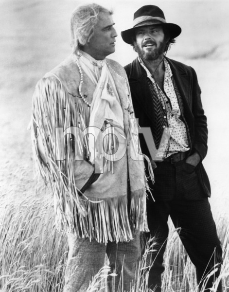 """The Missouri Breaks""Marlon Brando, Jack Nicholson1976 United Artists** I.V. - Image 6776_0011"
