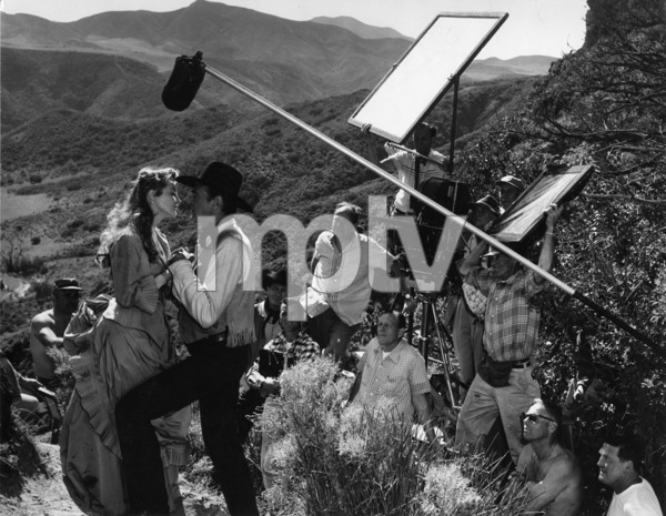 """""""Man of the West""""Julie London, Gary Cooper, director Anthony Mann1958Photo by Floyd McCarty - Image 6826_0025"""