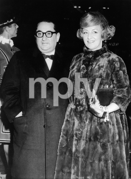 "Joseph E. Levine and wife Rosalie arrive for premiere of his film ""No Love for Johnnie""12-11-1961 - Image 7148_0001"