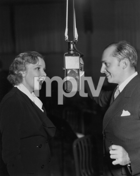 Dixie Lee Crosby and Ben Bernie1934 - Image 7156_0002
