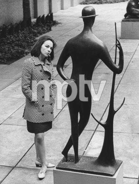 Leslie Caron at the Abby Aldrich Rockefeller Sculpture Garden, New York1967 - Image 715_0037