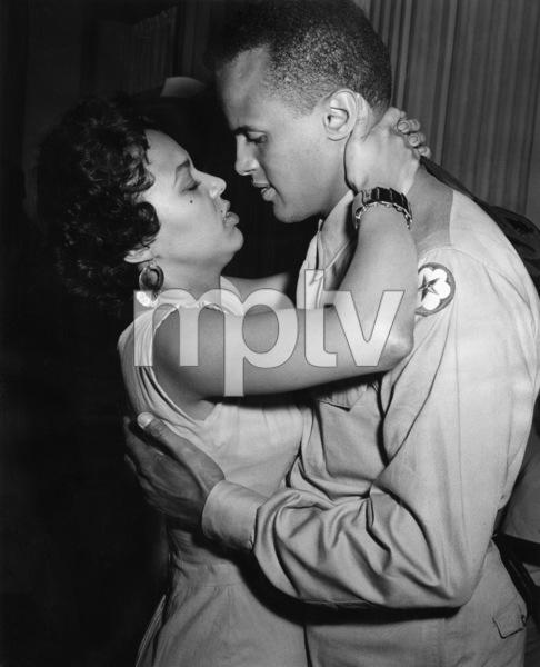 """""""Carmen Jones""""Dorothy Dandridge, Harry Belafonte1954 20th Century Fox ** I.V. - Image 7250_0062"""