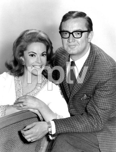 Jayne Meadows and Steve Allen, 1964.Photo by Gabi Rona - Image 7325_0029