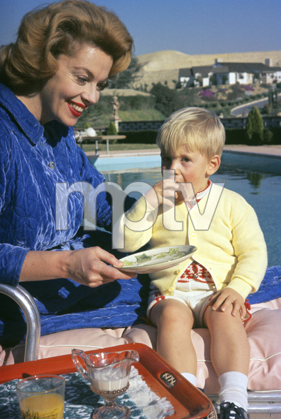 Jayne Meadows at home with her son1958© 1978 Gerald Smith - Image 7325_0063