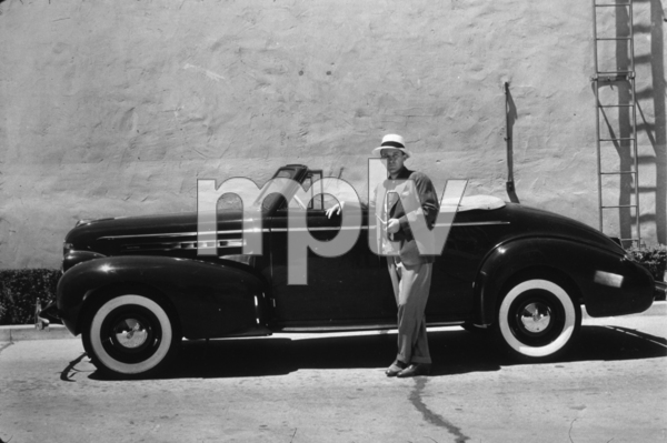 Bing Crosby with his 1939 Oldsmobile 6 Cylinder*M.W.* - Image 73_2037