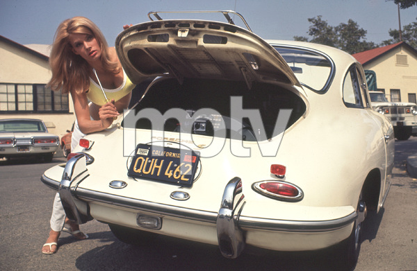 Jackie Ray and her 1964 Porsche 356 1965 © 1978 David Sutton - Image 7515_32