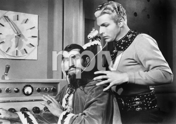 "Buster Crabbe with Charles Middleton""Flash Gordon""Universal 1936**I.V. - Image 7548_0007"