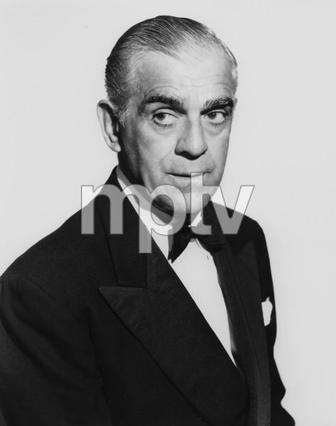 Boris Karloff, Photo By Constantine, 1950s, **I.V. - Image 7554_0115