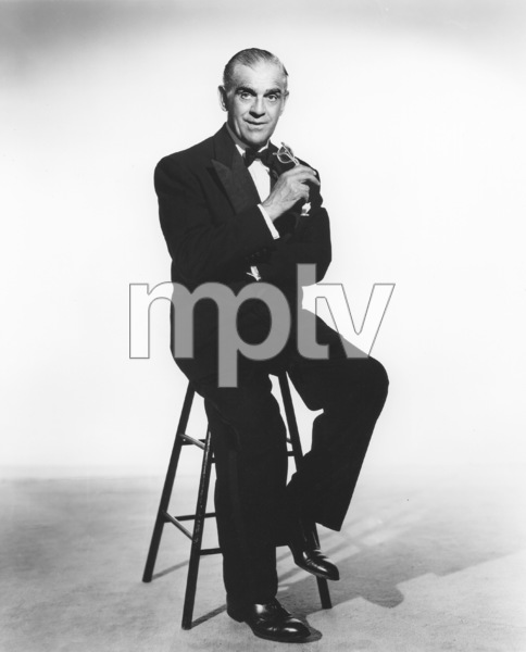 Boris Karloff, Photo By Constantine, 1950s, **I.V. - Image 7554_0116