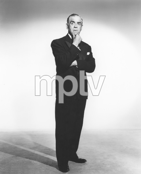Boris Karloff, Photo By Constantine, 1950s, **I.V. - Image 7554_0117