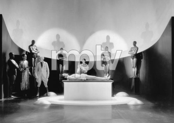 """The Mask of Fu Manchu"" Boris Karloff, Myrna Loy1932 MGM ** I.V. - Image 7554_0142"