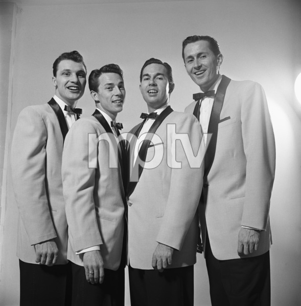 The Four Freshmen (Ray Brown, Bob Flanigan, Ross Barbour)1952 © 1978 Sid Avery - Image 7562_0001