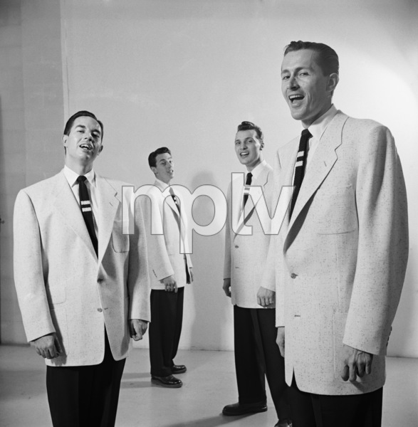 The Four Freshmen (Ray Brown, Bob Flanigan, Ross Barbour)1952 © 1978 Sid Avery - Image 7562_0002
