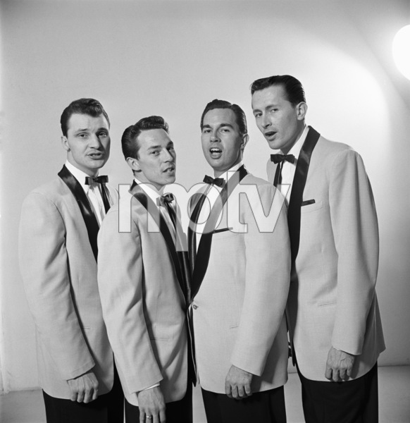 The Four Freshmen (Ray Brown, Bob Flanigan, Ross Barbour)1952 © 1978 Sid Avery - Image 7562_0006