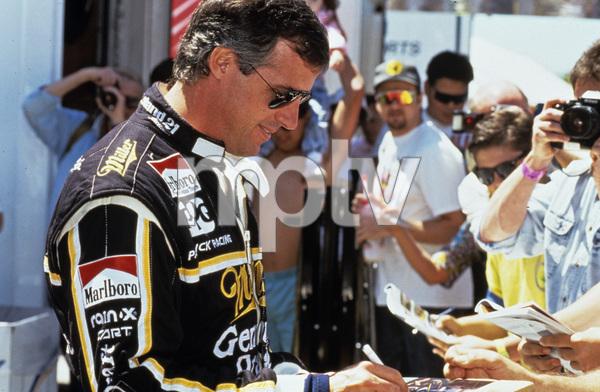 Danny Sullivan driving for Alfa Romeo at the Long Beach Grand Prix in Long Beach, CA1991 © 1991 Ron Avery - Image 7585_0019