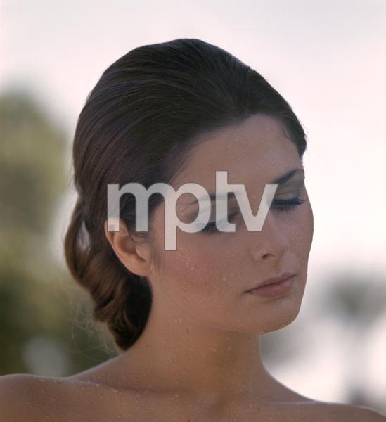Cristina Ferrare posing for a Max Factor advertisementcirca 1970s© 1978 Sid Avery - Image 7612_0104