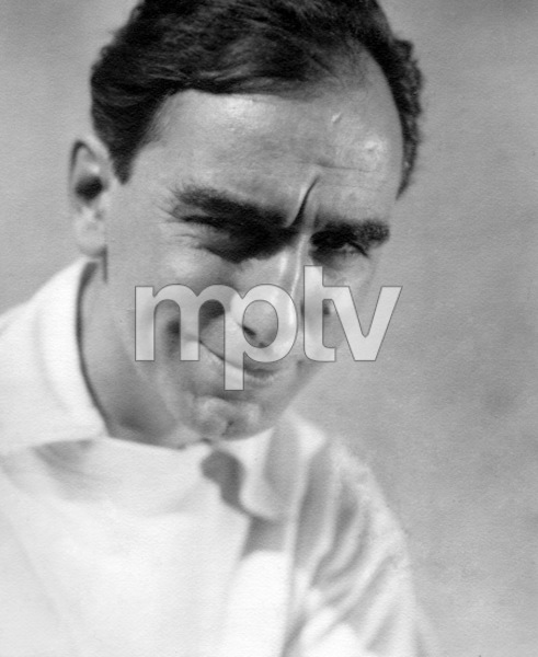 Busby Berkeley, American film choreographer and director known for his lavish synchronized dance and production numbers, late 1920