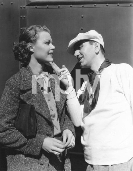 Busby Berkeley inspects Dorothy Claire who recently underwent plastic surgery so she could meet the choreographer/directors standard and has now been cast in Berkeley