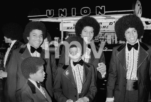 The Jackson Five at the Image AwardsTop Row ( L-R): Tito, Marlon, Jackie, JermaineBottom Row (L-R): Randy, Michael1972 © 1978 Kim Maydole Lynch - Image 7670_0027