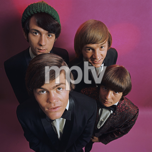 """The Monkees""Michael Nesmith, Davy Jones, Micky Dolenz, Peter Tork 1966 © 1978 Ken Whitmore - Image 7671_0104"