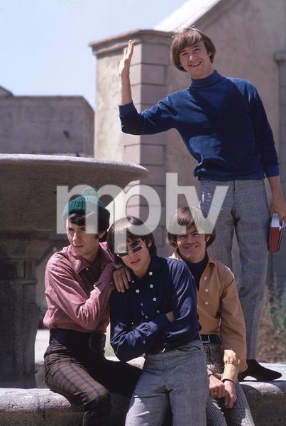 """The Monkees"" Davy Jones, Micky Dolenz, Michael Nesmith, Peter Tork 1966 © 1978 Gene Trindl - Image 7671_0105"