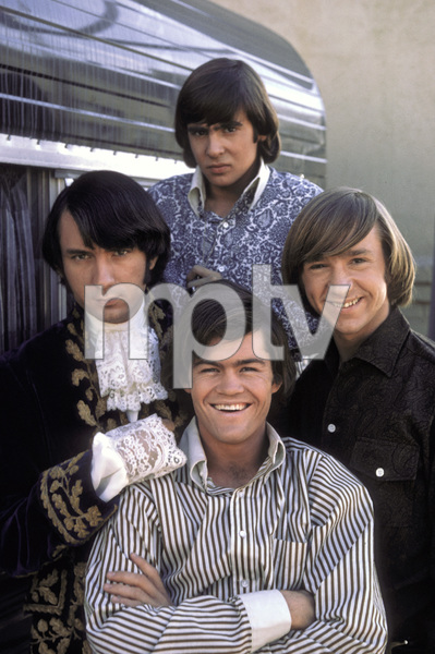 """The Monkees""Michael Nesmith, Davy Jones, Peter Tork, Micky Dolenz1966 © 1978 Gene Trindl - Image 7671_0182"