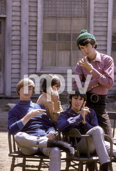 """The Monkees"" Davy Jones, Peter Tork, Mikey Dolenz, Mike Nesmith C. 1966 © 1978 Gene Trindl - Image 7671_0216"