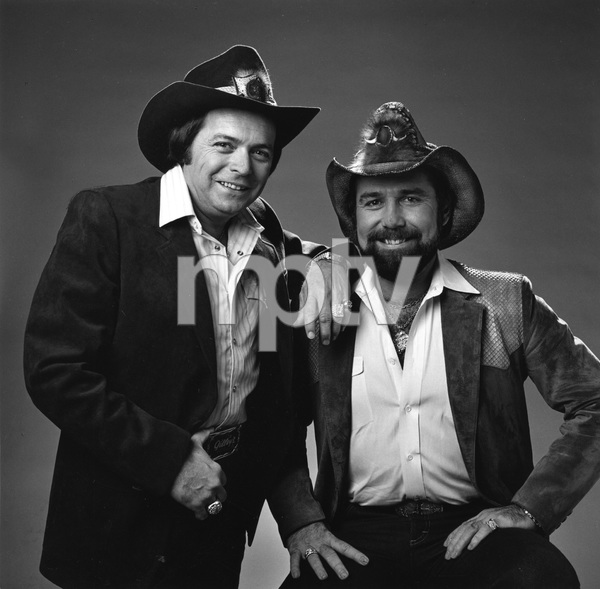 Country music stars Mickey Gilley and Johnny Lee1982 © 1982 Jason Hailey - Image 7677_0002