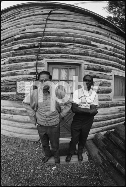 Angelo Dundee, Luis Serria1974© 1978 Peter Angelo Simon - Image 7683_0501