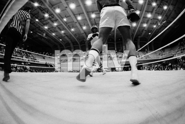 "Muhammad Ali sparring with Eddie ""Bossman"" Jones1974© 1978 Peter Angelo Simon - Image 7683_0552"