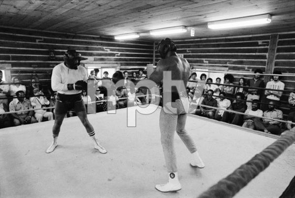 "Eddie ""Bossman"" Jones, Muhammad Ali1974© 1978 Peter Angelo Simon - Image 7683_0581"