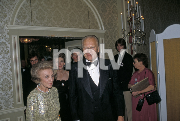 Gerald Ford with Ronald and Nancy Reagan1978 © 1978 Gunther - Image 7684_0004