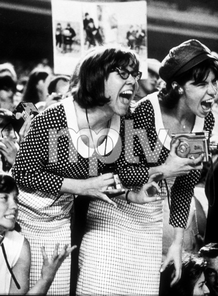 Beatles Fans screaming their lungs outduring a concert at Shea Stadium, August 15, 1965MPTV - Image 7685_0022