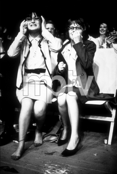 Beatles Fans emjoying the concert Beatles USA Tour, One lady almost in tears1964 © 1978 Gunther / MPTV  - Image 7685_0159