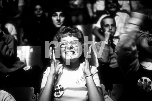 Beatles Fans enjoying the concertBeatles USA Tour.  Close-up of a fan,1964 © 1978 Gunther / MPTV  - Image 7685_0164