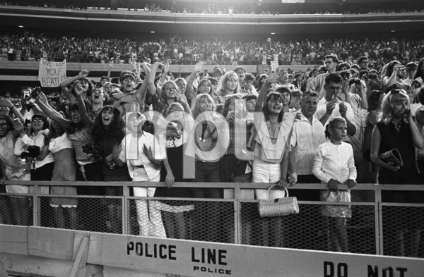 Beatles fans at Shea StadiumAugust 15, 1965 © 1978 George E. Joseph - Image 7685_0172