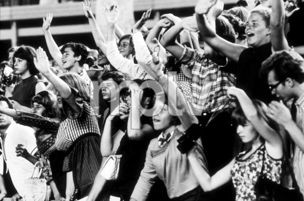Beatles Fans enjoying concert atShea Stadium, August 15, 1965 © 1978 George E. Joseph / MPTV - Image 7685_0179