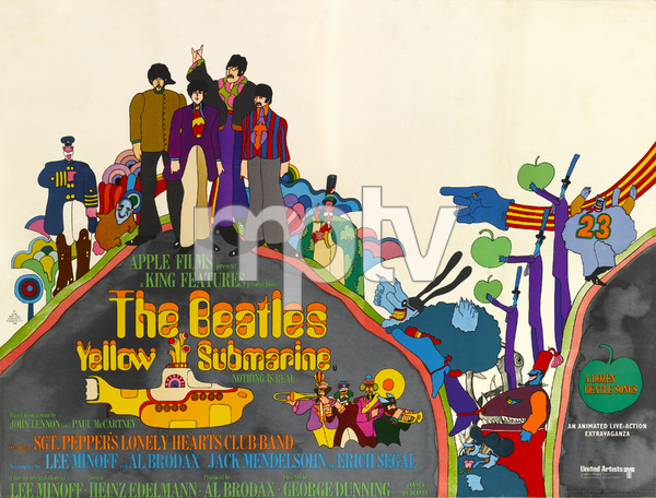 """Yellow Submarine"" (Poster)1968** T.N.C. - Image 7685_0246"